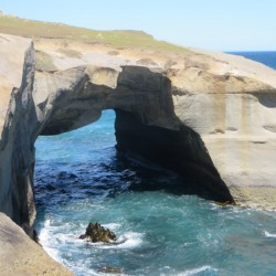 Tunnel Beach arch