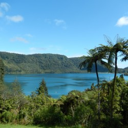 Blue Lake Rotorura New Zealand