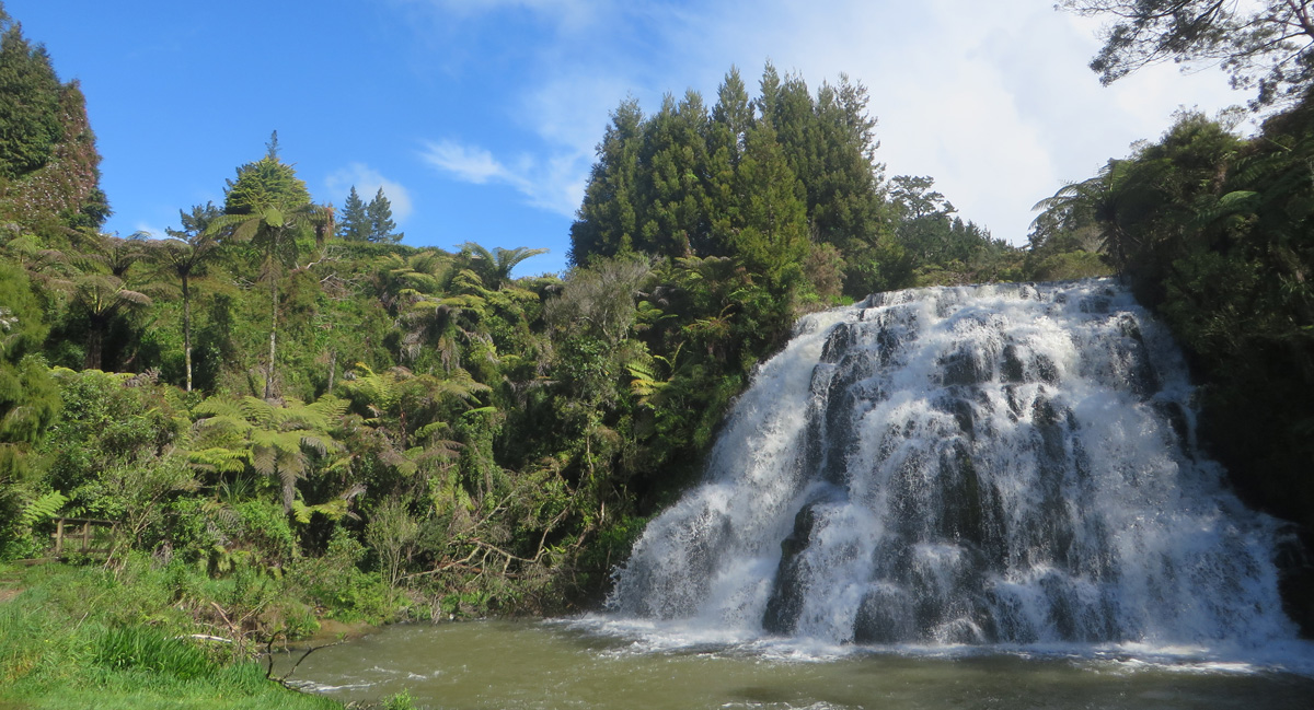 Owharoa Falls New Zealand